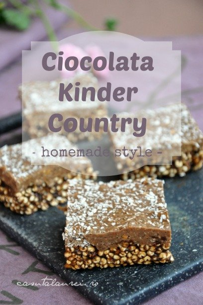 ciocolata Kinder Country