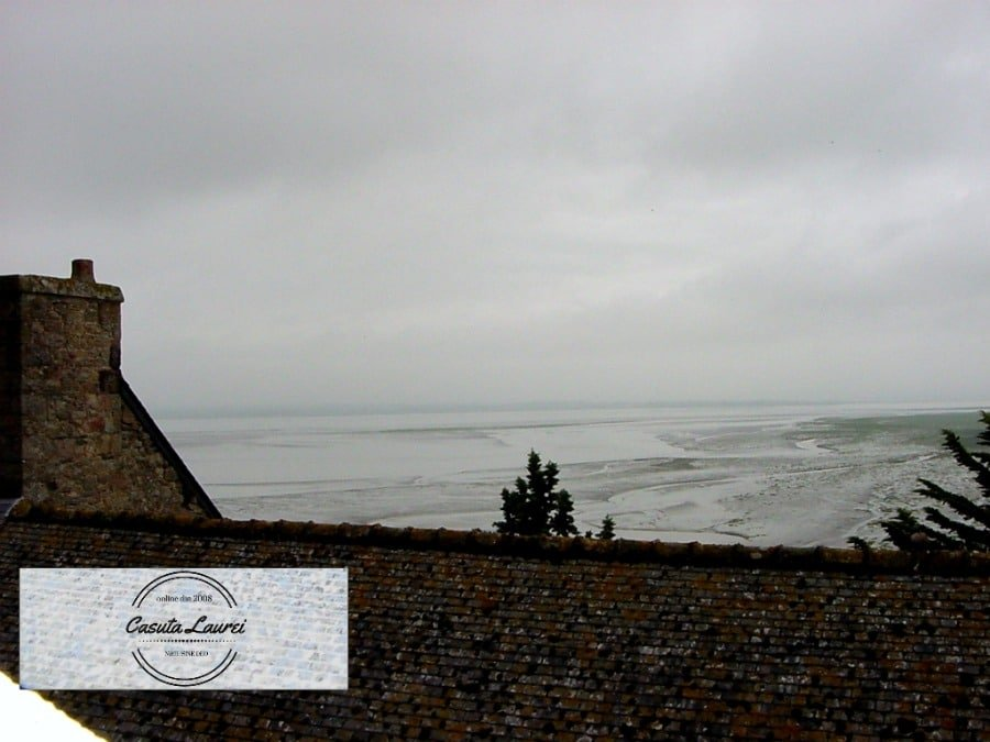 Marea vazuta din Mont Saint Michel.