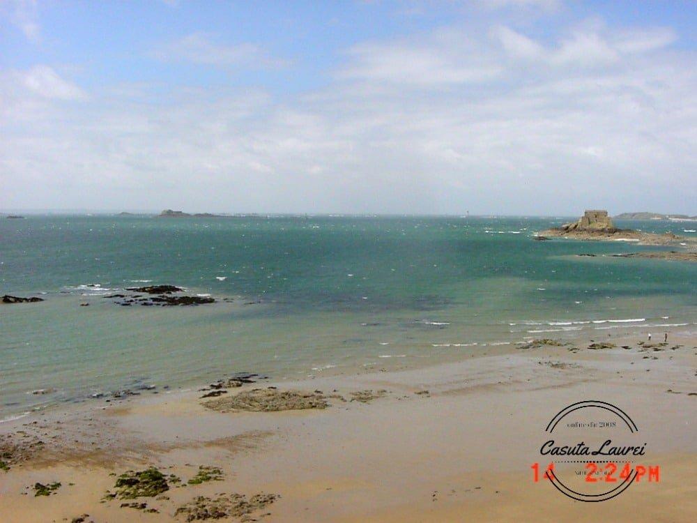 Saint Malo. Plaja.
