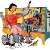 Treburi casnice: cum se spalau vasele la 1925 :))