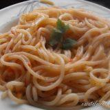 Spaghete simple