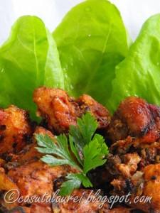 carne marinada in sos tandoori
