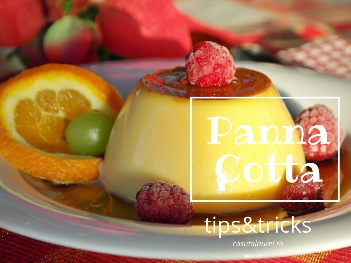 Panna Cotta: tips&tricks