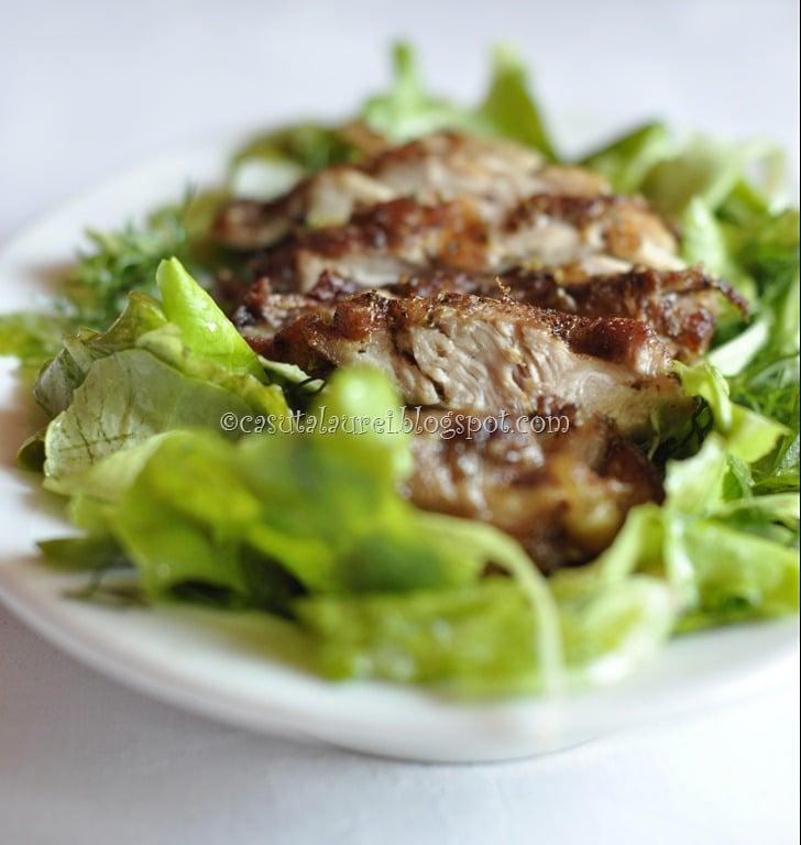 Salata de pui Cajun