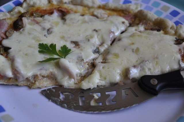 Blat subtire de pizza