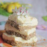 Tort Dukan cu crema de branza si lamaie
