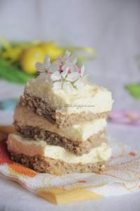 Tort dieteticos cu crema de branza si lamaie