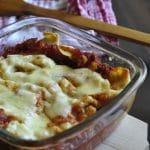 Cannelloni umpluti cu carne tocata