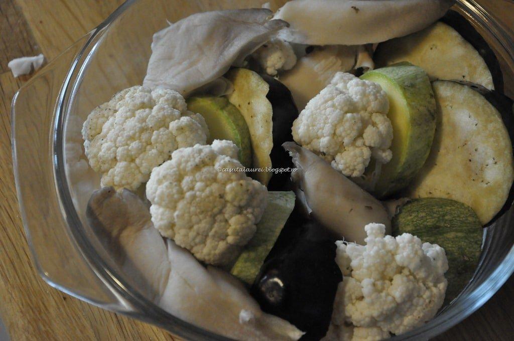 Legume la cuptor in sos vegetarian Bechemal1
