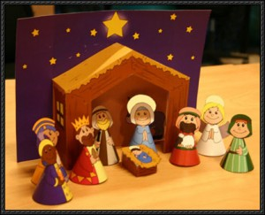 Christmas Activities Papercraft For Kids Free Template Download
