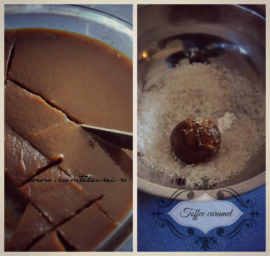 toffees caramele