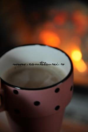 cafea in fata semineului