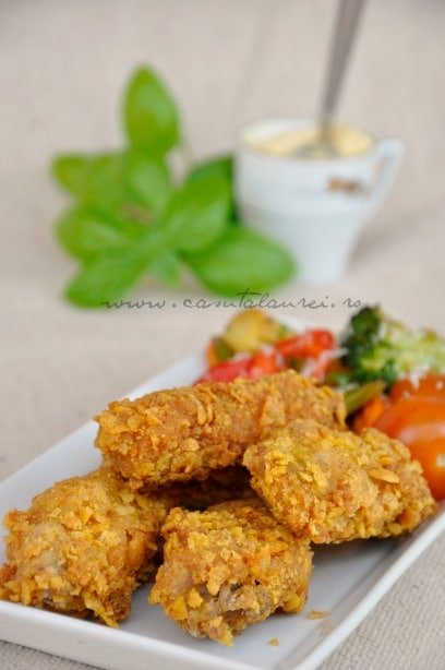 Aripioare crocante - KFC style