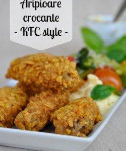 KFC aripioare picante (coperta)