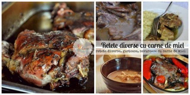 5 retete cu carne de miel - o colectie pe alese
