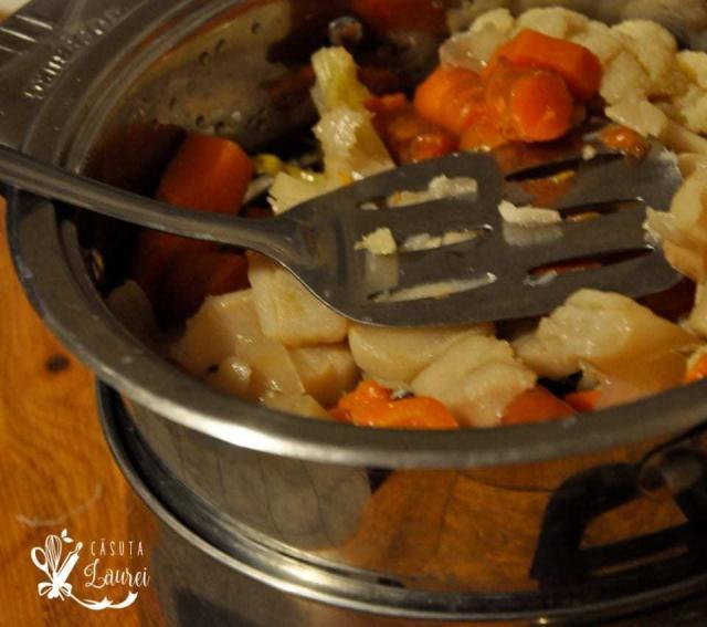 supa concentrata de legume preparare