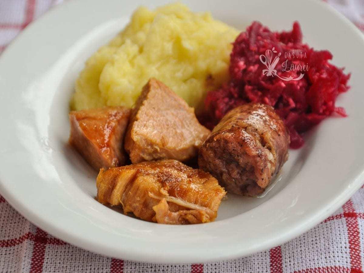 carne in untura la borcan