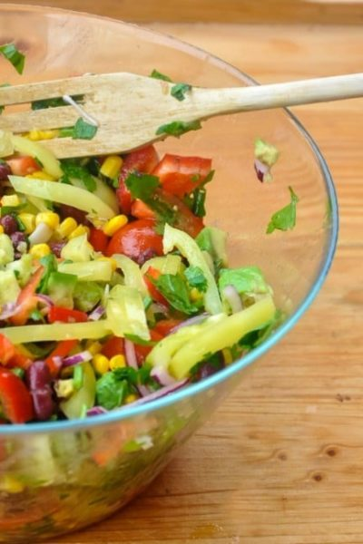 Salata in stil mexican