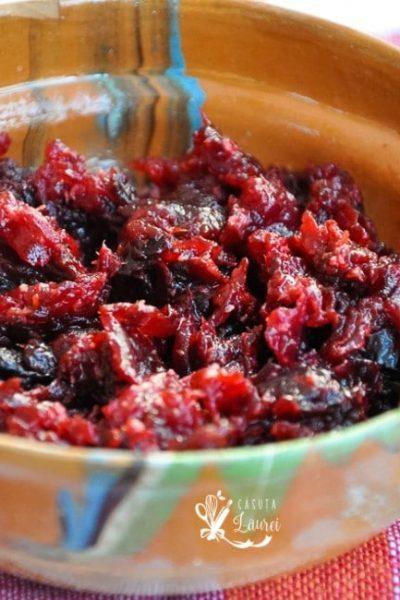 Salata de sfecla rosie cu hrean – simplu si sanatos