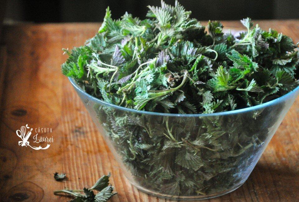 urzici ingredient nutritiv si sezonier