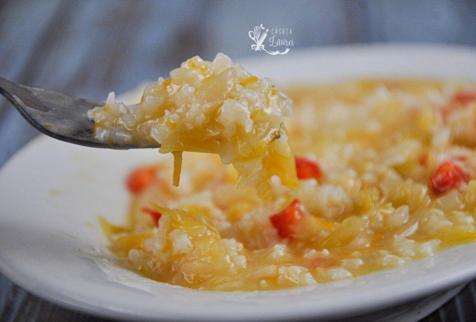 orez cu varza murata