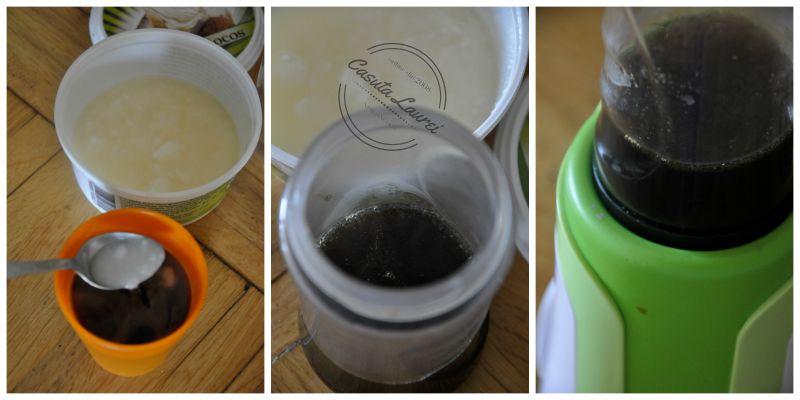 Coconut Latte - preparare
