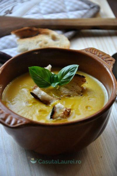 Supa – crema de dovleac